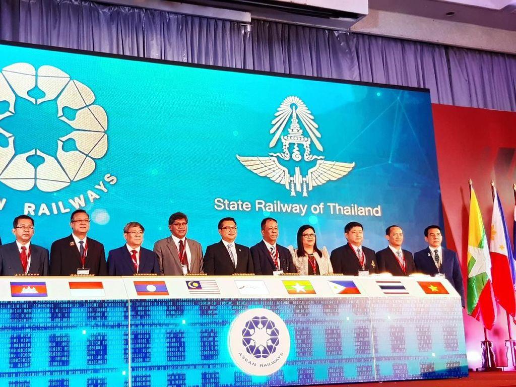 KAI Hadiri Pertemuan Operator Kereta se-ASEAN di Bangkok
