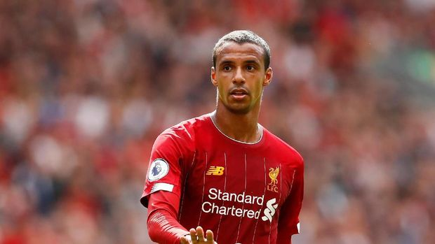 FILE PHOTO: Soccer Football - Premier League - Liverpool v Newcastle United - Anfield, Liverpool, Britain - September 14, 2019  Liverpool's Joel Matip   Action Images via Reuters/Jason Cairnduff  EDITORIAL USE ONLY. No use with unauthorized audio, video, data, fixture lists, club/league logos or