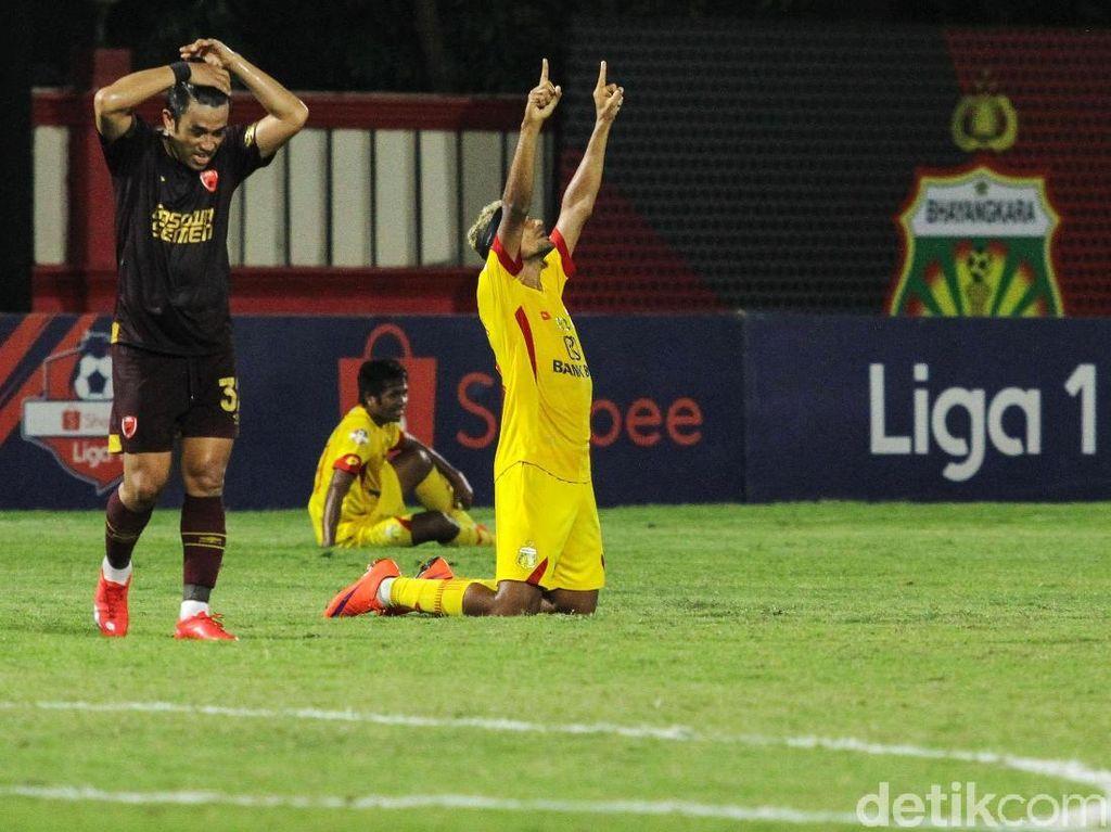 Bhayangkara FC Tumbangkan PSM Makassar