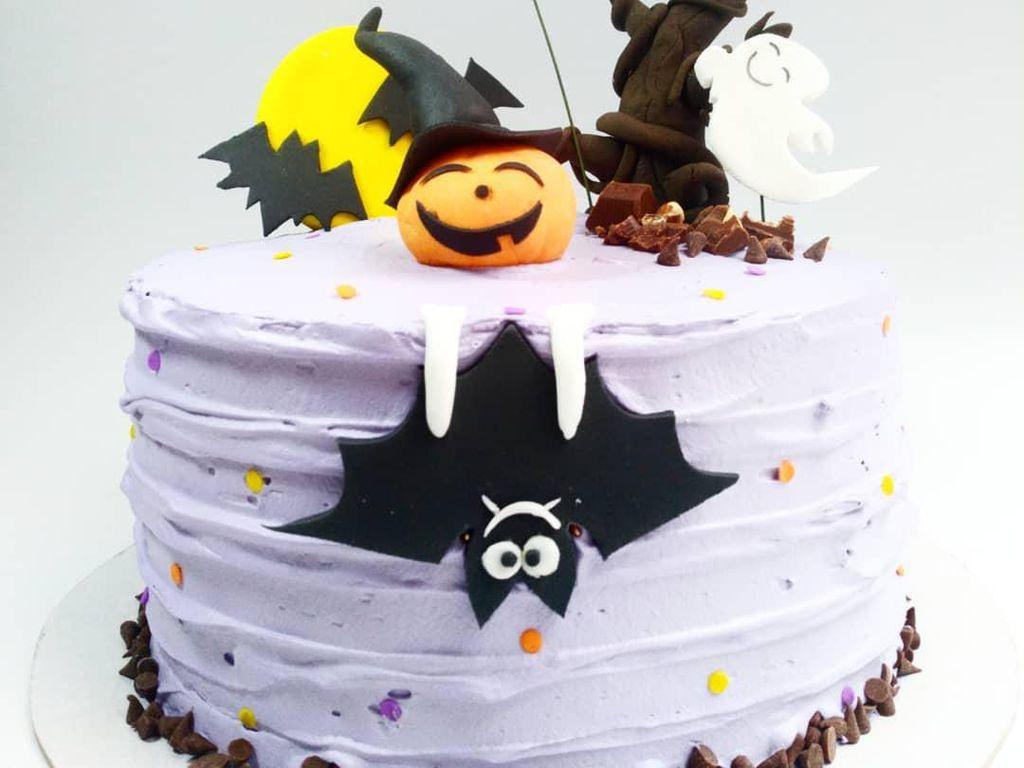 Hantu Mungil dan Menggemaskan Bisa Jadi Tema Cake Unik