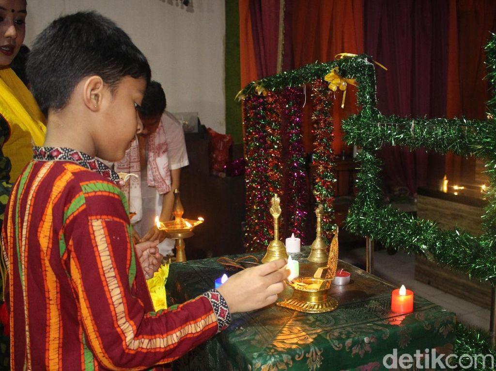 Cerita Perayaan Festival Cahaya di Pasar Baru Jakarta