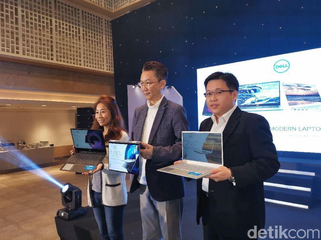 Dell Boyong Laptop Anyar Berprosesor Intel Generasi ke-10