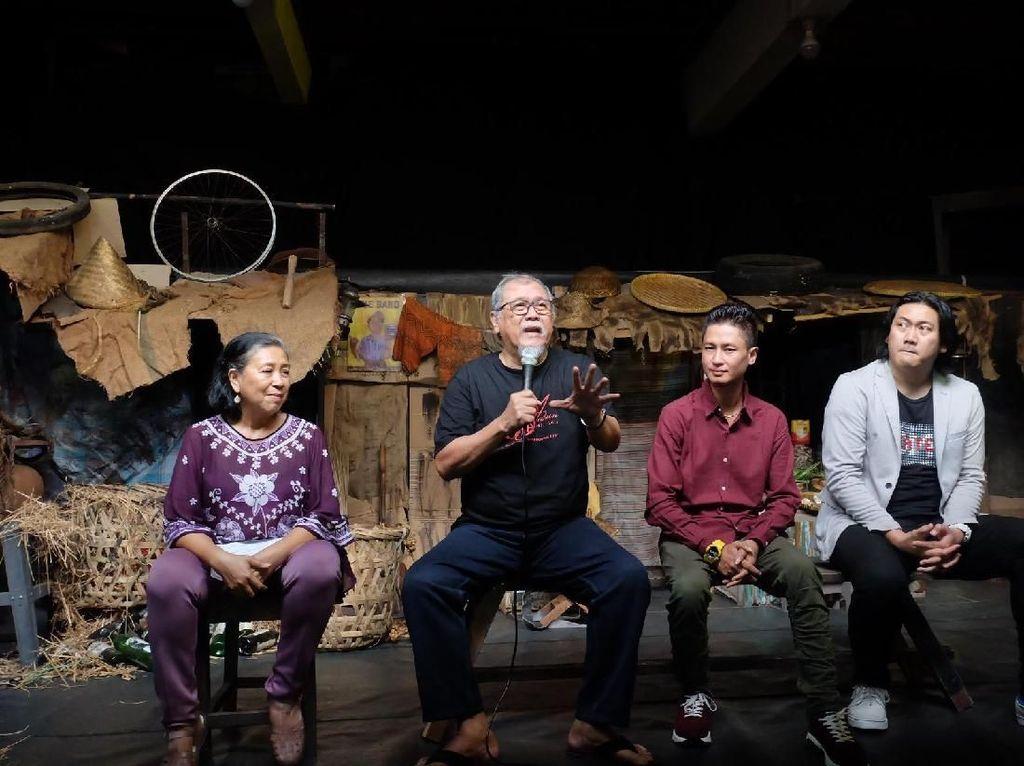 Teater Koma Tunggu Gebrakan Menteri Nadiem agar Anak Sekolah Nonton Teater