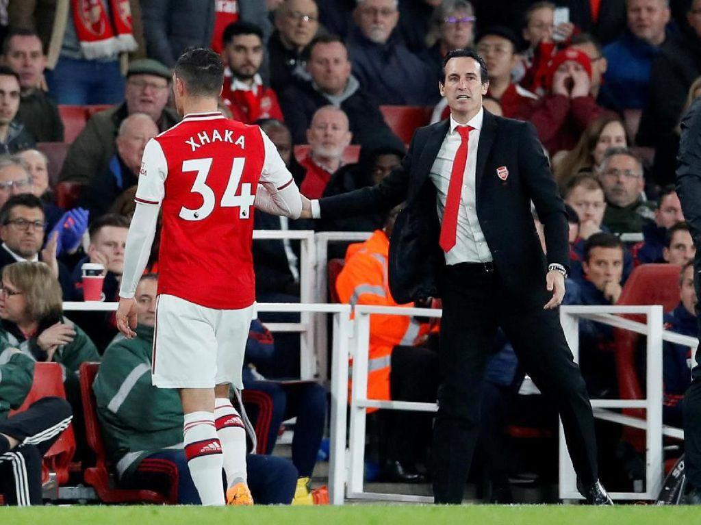 Sakit Hati Xhaka saat Fans Arsenal Rayakan Substitusinya
