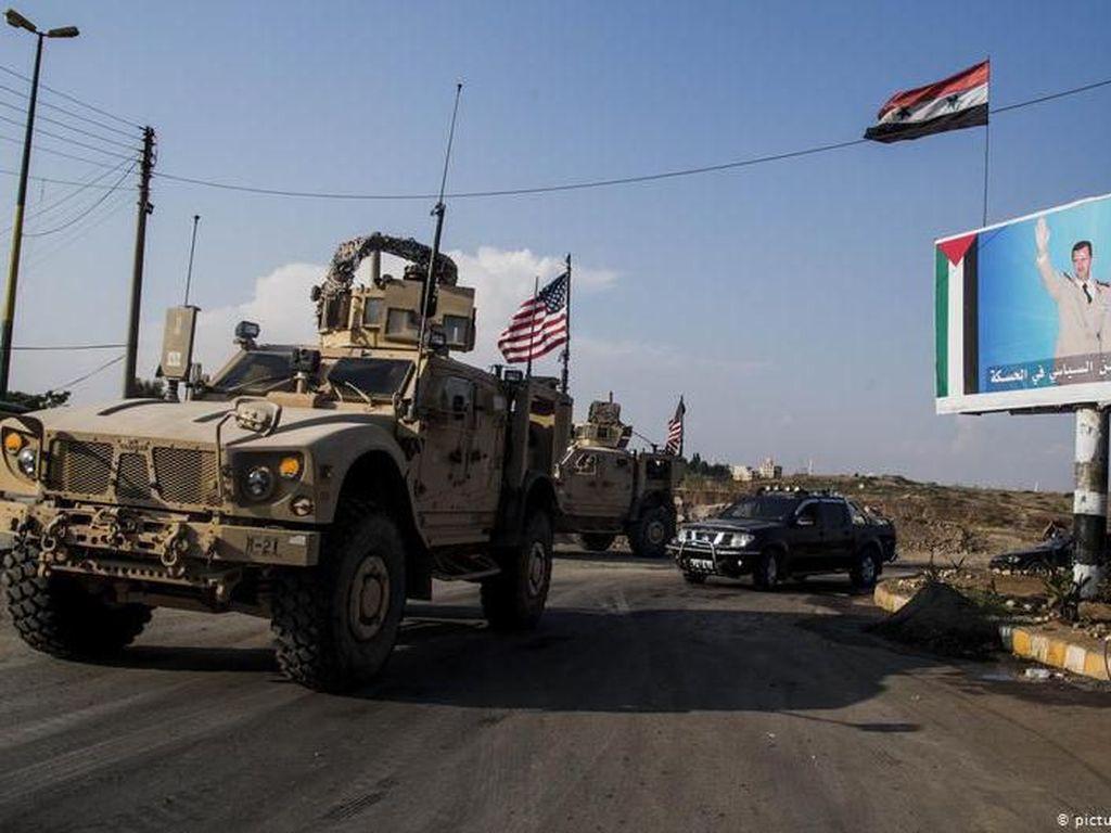 Pemimpin ISIS Tewas, Amerika Amankan Ladang Minyak Suriah
