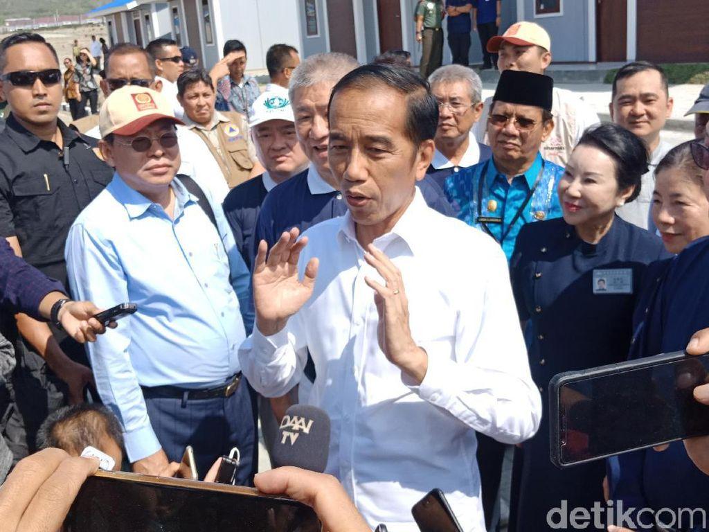 Jokowi: Tanggul Teluk Palu Jangan Diperdebatkan, Segera Dieksekusi