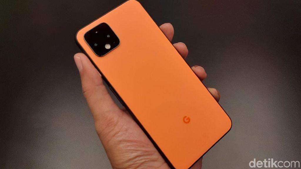 Unboxing Pixel 4 Oh So Orange yang Unyu-unyu