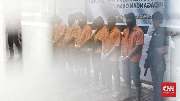 Polisi Ringkus Pelaku Perdagangan Orang, 48 Wanita Jadi Korba