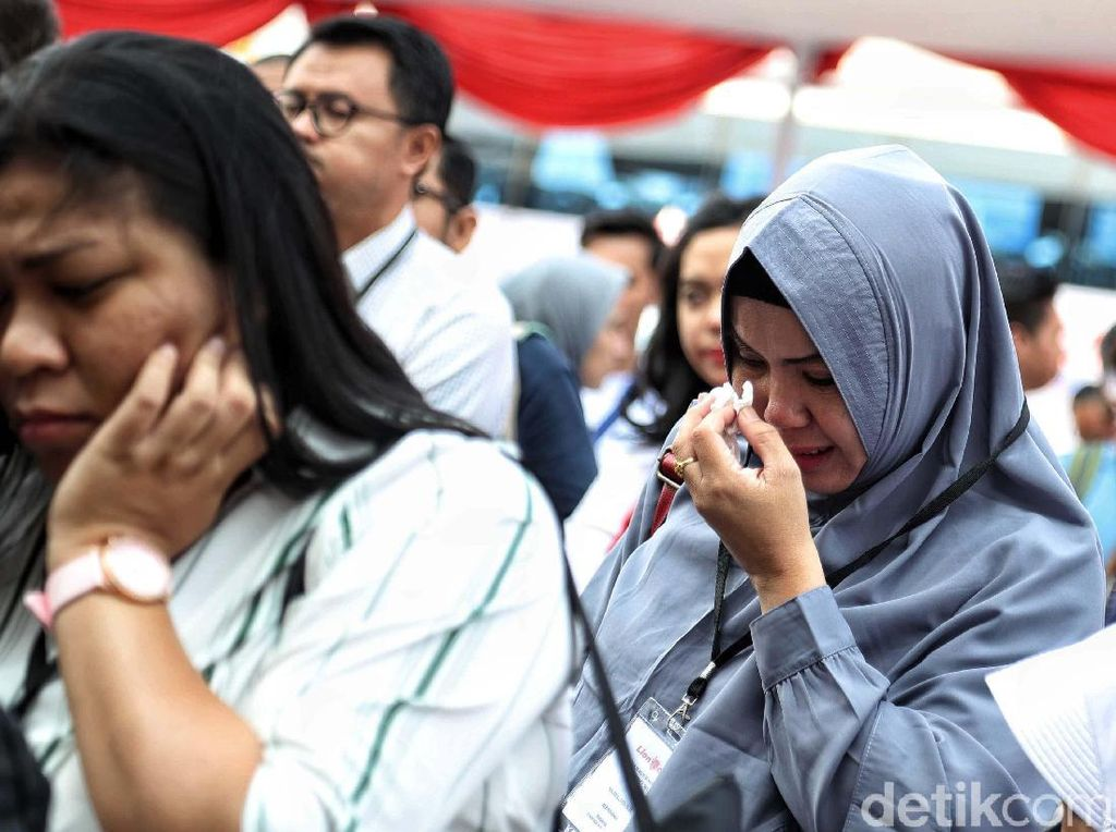 Tangis Pecah di Peringatan Satu Tahun Jatuhnya Lion Air PK-LQP