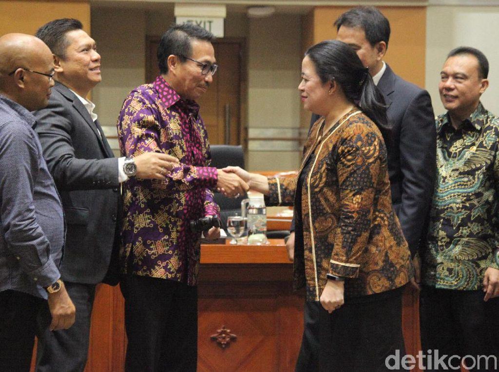 Momen Herman Herry Dilantik Jadi Ketua Komisi III DPR