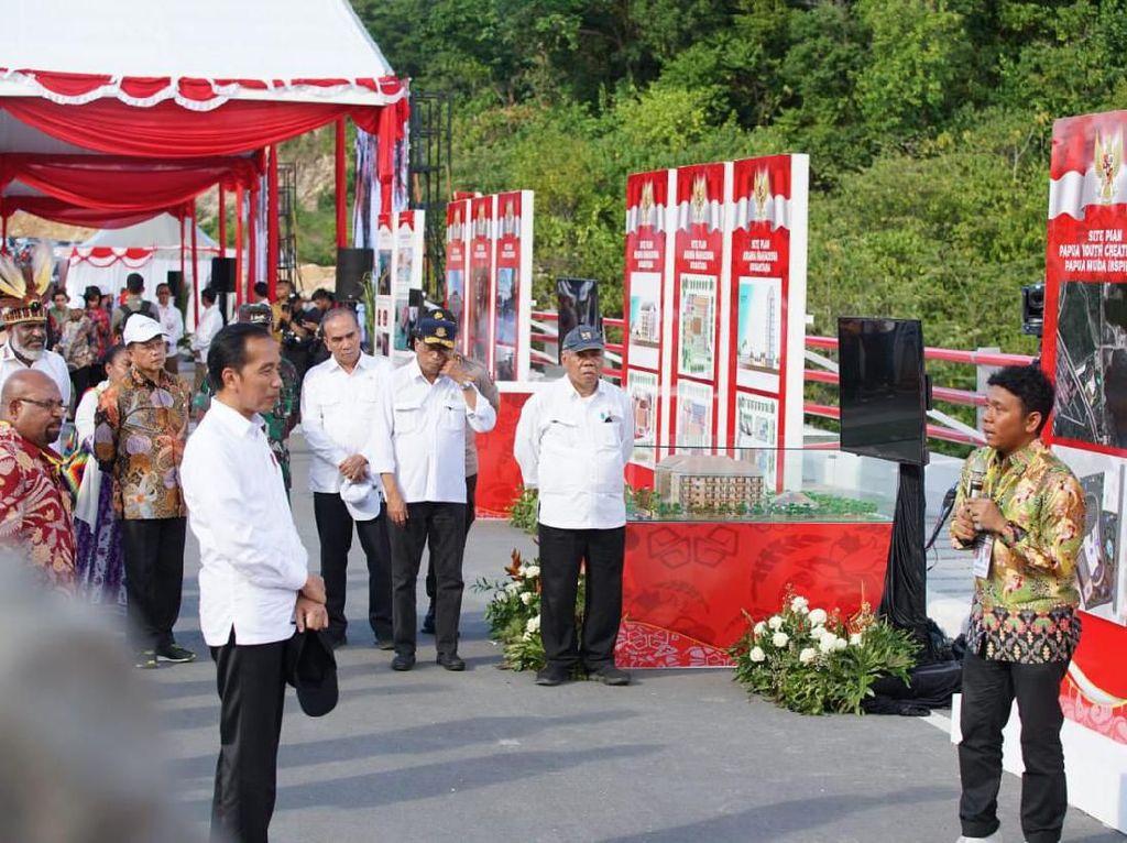 Jokowi Resmikan Silicon Valley di Papua