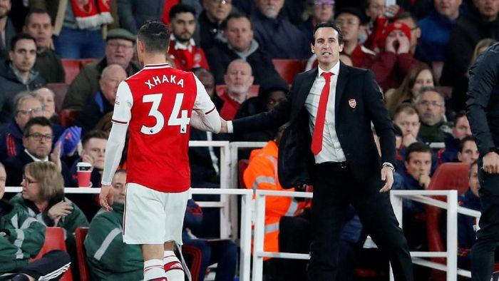 Tentukan Nasib Xhaka, Emery Akan Berunding dengan Arsenal