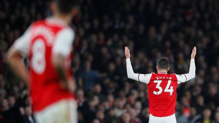 Granit Xhaka tidak akan dimainkan di laga Arsenal vs Wolverhampton (Foto: REUTERS/David Klein Klein)
