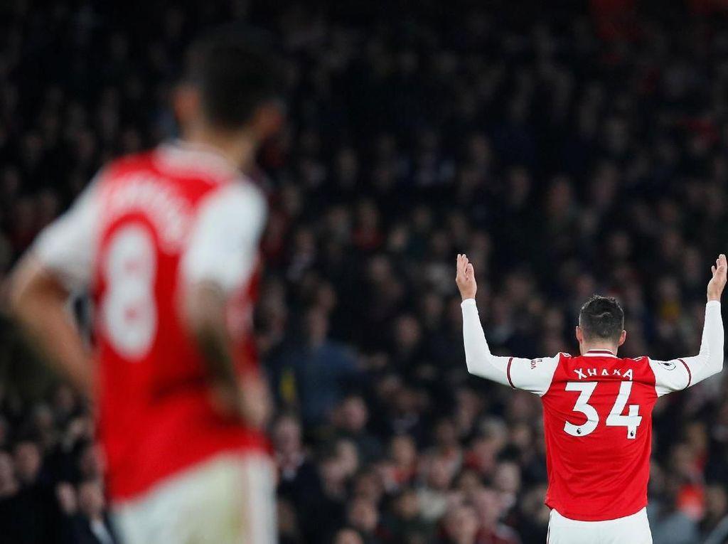 Arsenal Vs Wolverhampton: Xhaka Masih Akan Diparkir