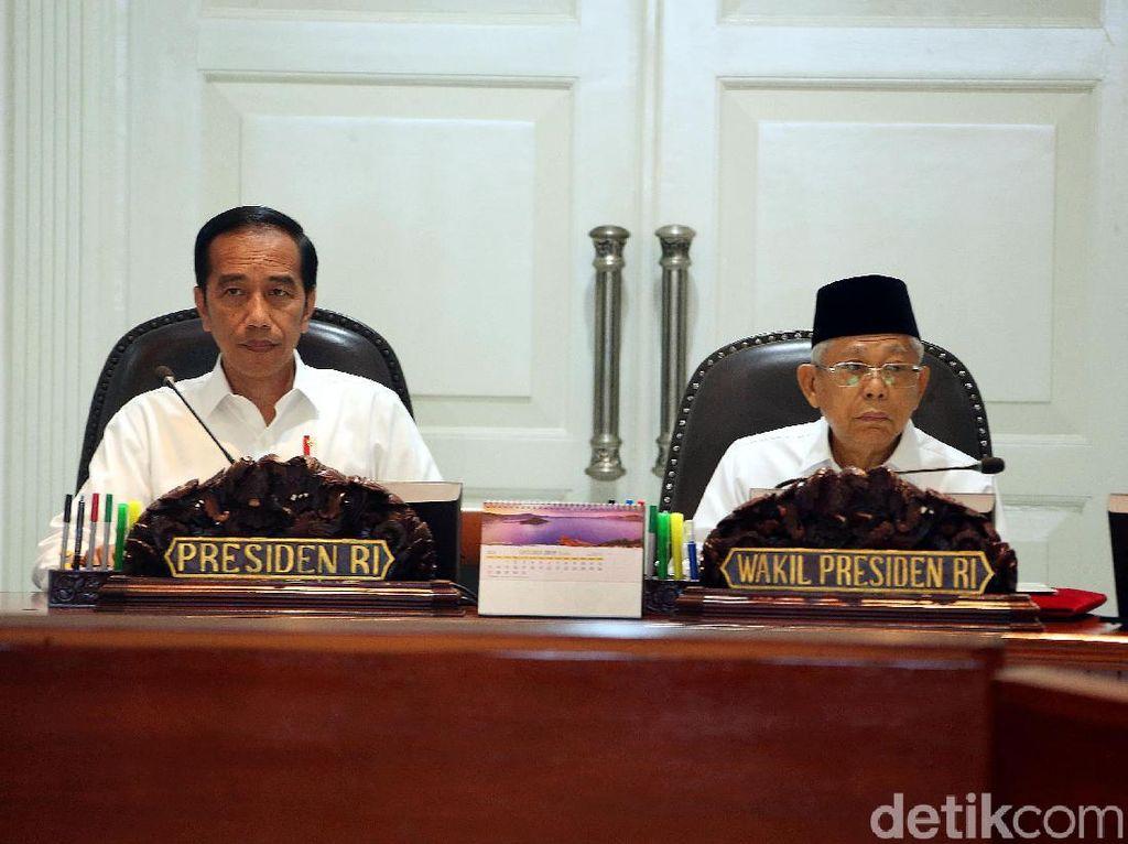 Jokowi Pimpin Ratas Bahas Ekonomi