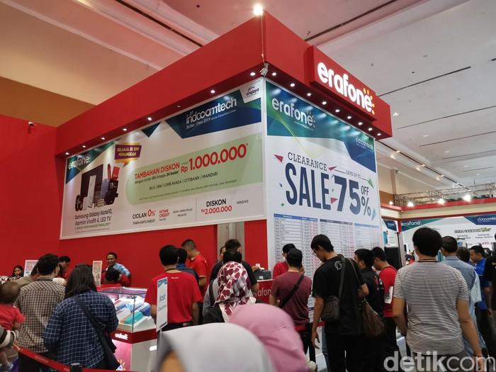 Suasana Indocomtech 2019. Foto: Aisyah Kamaliah/detikINET