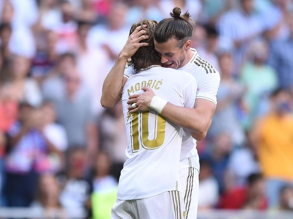 Modric: Bale Diperlakukan Tidak Adil