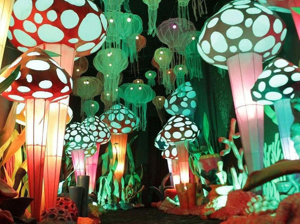 Fantasy Park di Summarecon Mall Bekasi, Instalasi Cahaya yang Instagrammable
