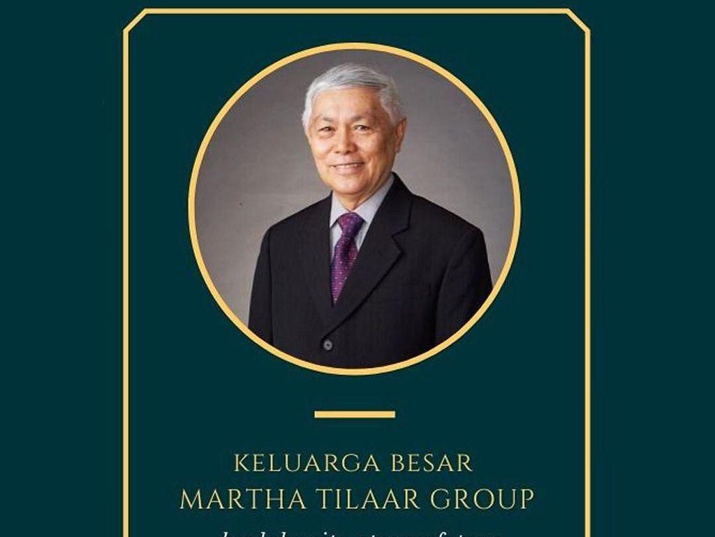 H.A.R Tilaar, Suami Martha Tilaar Meninggal Dunia di Usia 87 Tahun