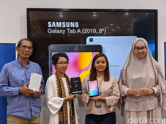 Galaxy Tab A 2019. Foto: Adi Fida Rahman/detikinet
