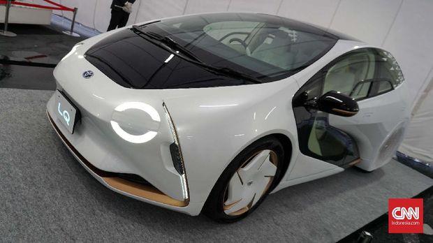 Toyota LQ Concept.