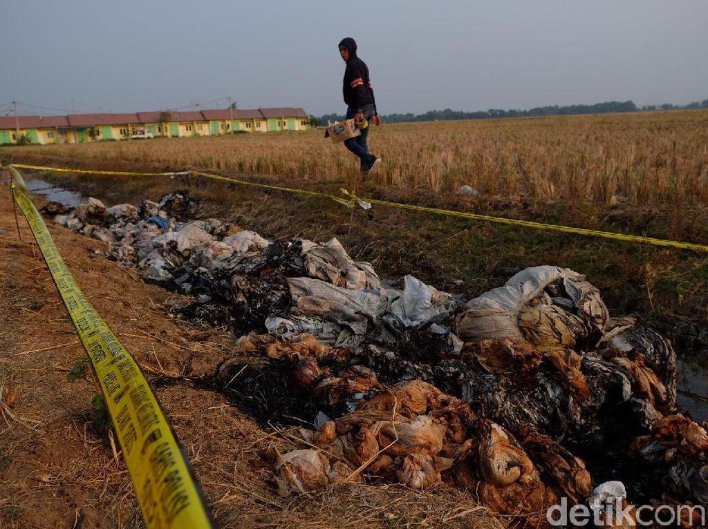 Lumpur Beracun yang Dikubur di Karawang Milik Pabrik Tekstil Area Bandung