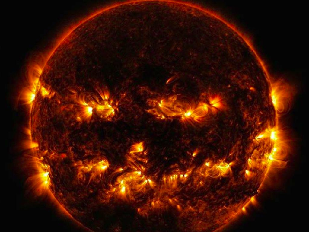 NASA Posting Foto Matahari, Netizen: Kok Seram Banget