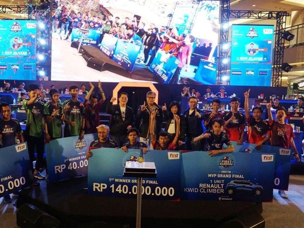 First Warriors, Audisi Esport Berhadiah Rp 1,3 Miliar