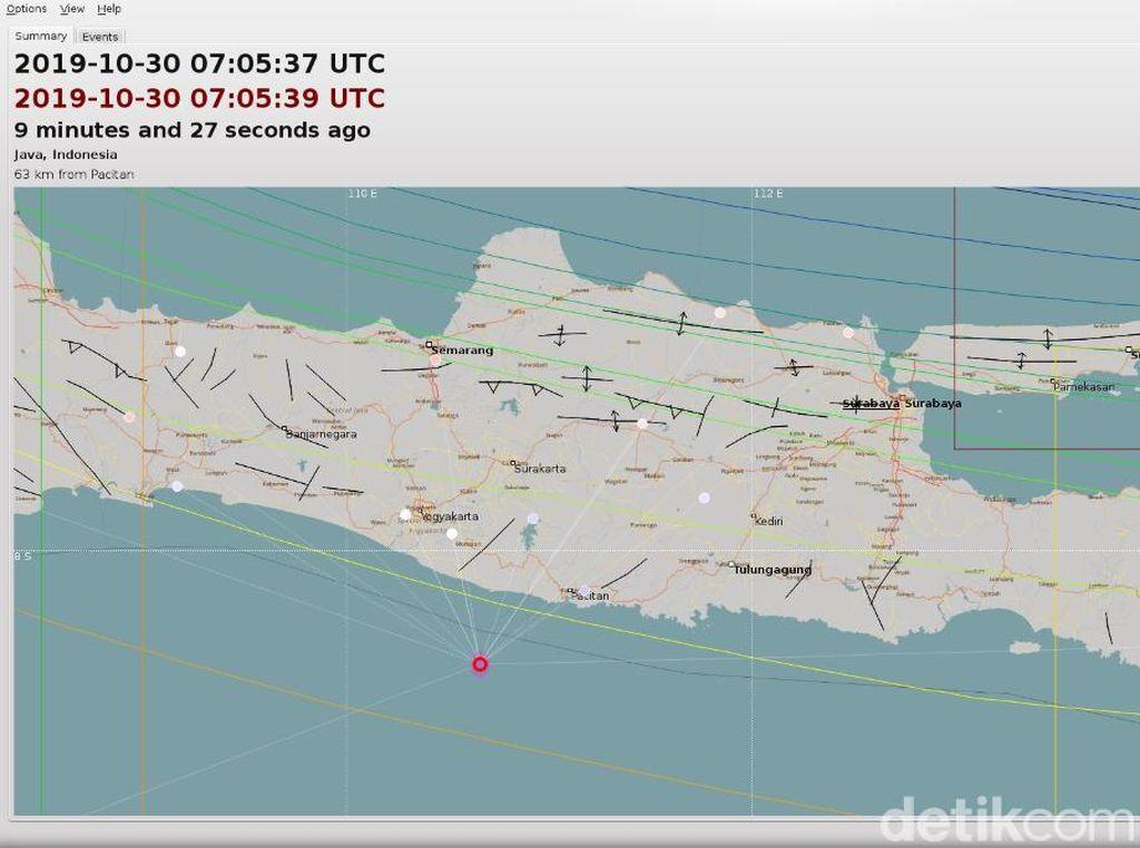 Gempa 3,8 Skala Richter Terasa di Gunungkidul
