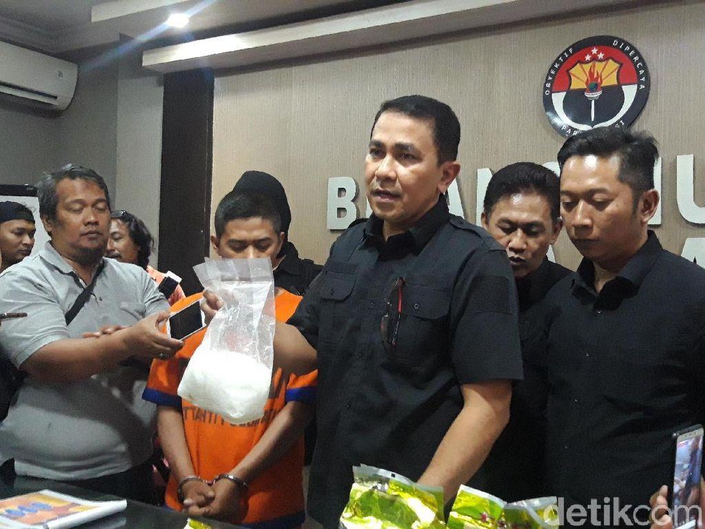 Dor..! Polisi Tembak Mati Bandar Sabu Senilai Rp 7 Miliar