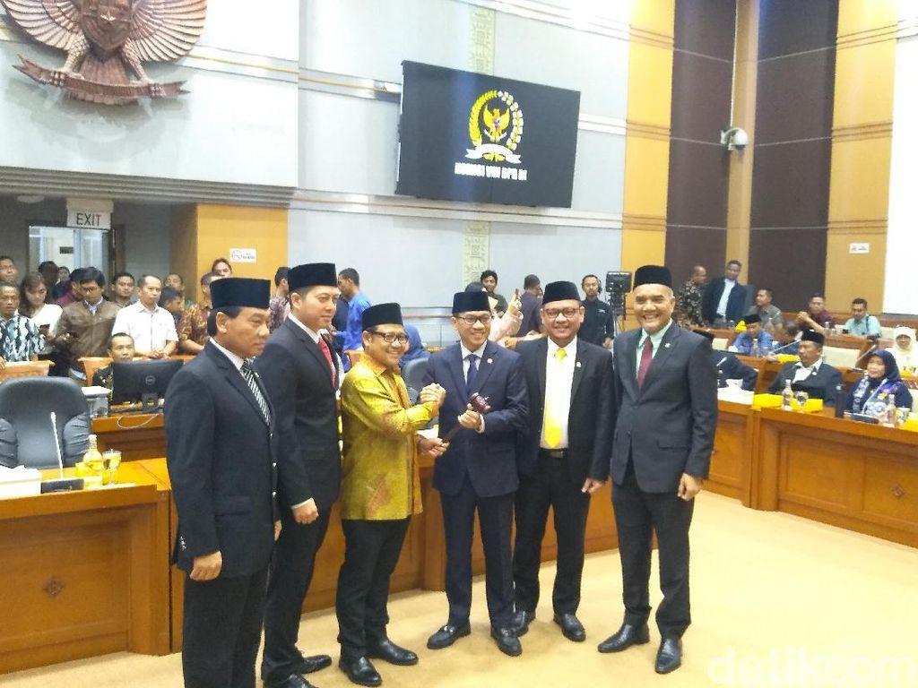 Pimpinan Komisi VIII Ditetapkan, Cak Imin Ingatkan RUU P-KS