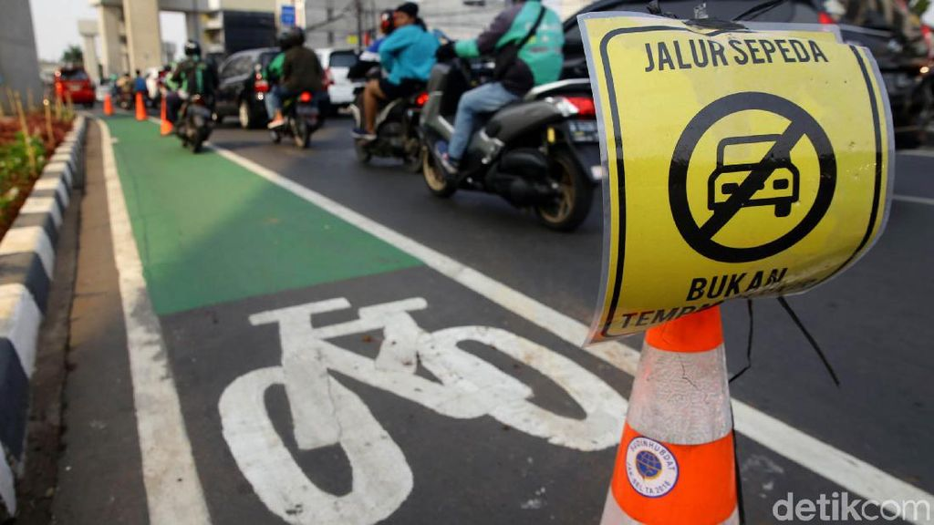 Fantastis! Usulan Anggaran Jalur Sepeda DKI Mencapai Rp 73 M