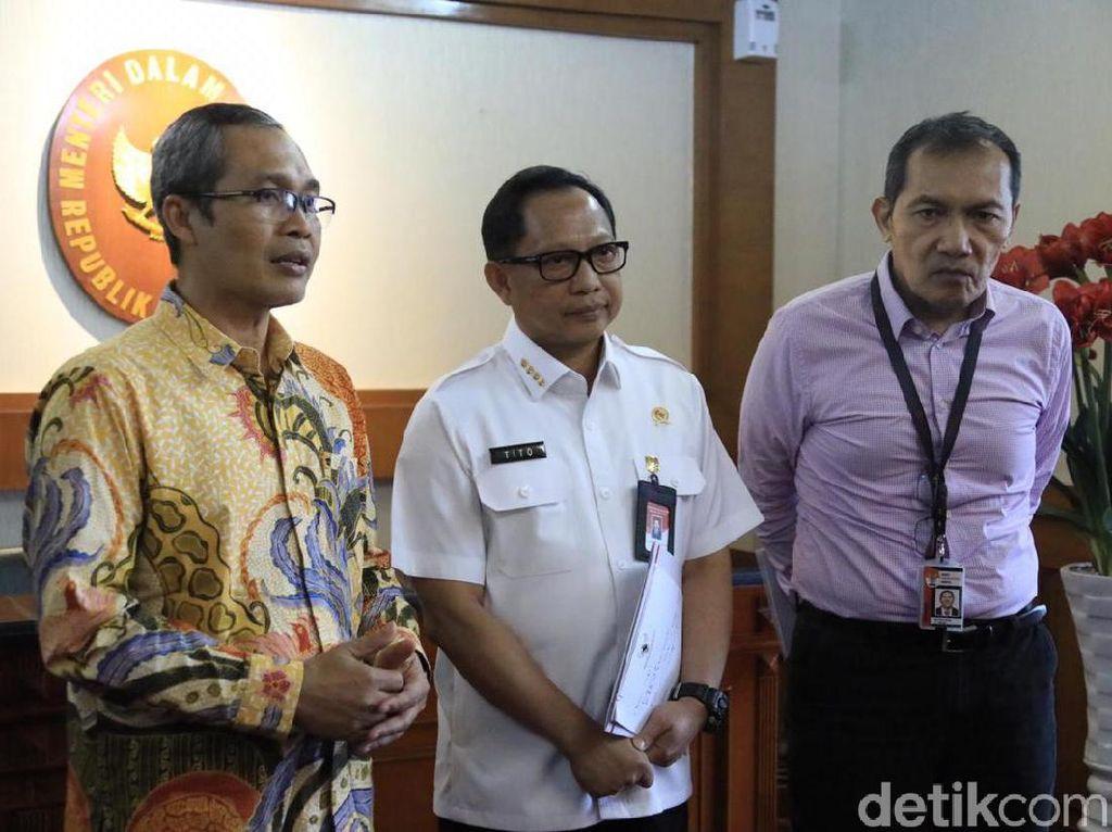 Bertemu Pimpinan KPK, Mendagri Tito Minta Anggaran Daerah Diawasi