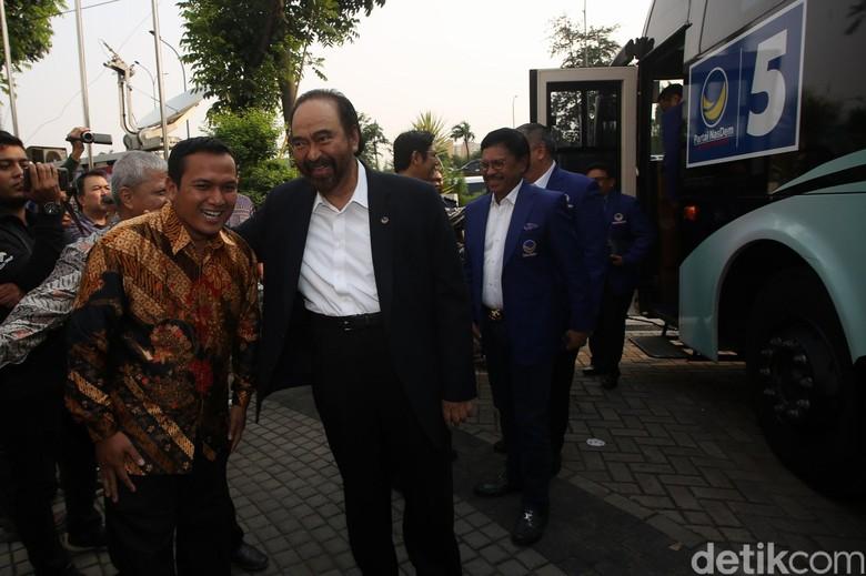 Usai Ketemu PKS Surya Paloh Bakal Lanjut Safari Politik ke PAN