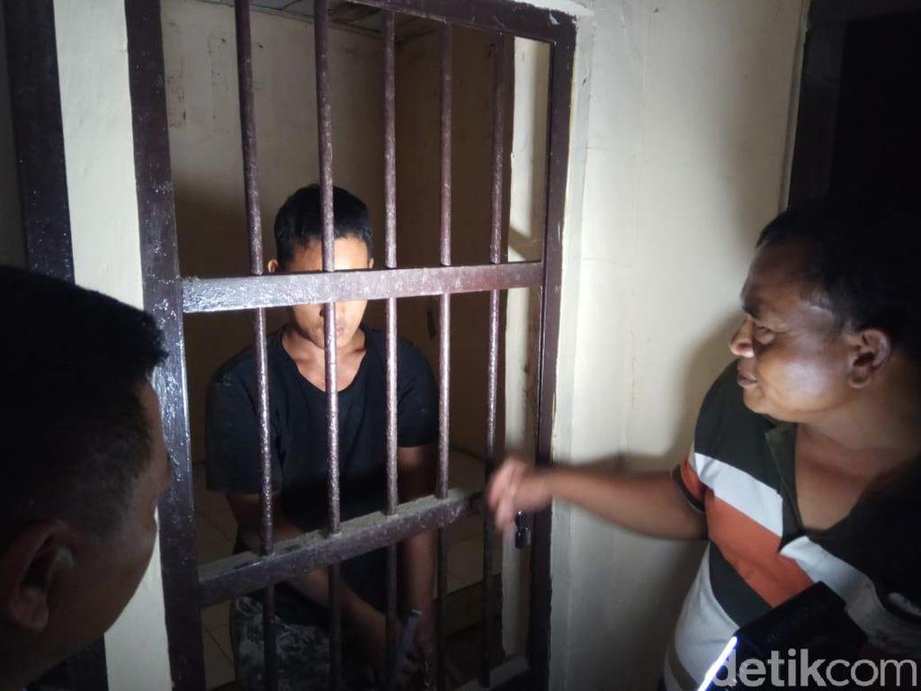 Bunuh dan Cor Mayat Ayah Kandung, Wahudin 3 Kali Masuk RSJ di Tegal