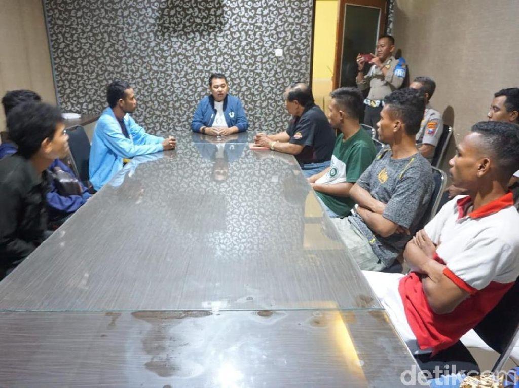 Polisi Pertemukan Dua Kelompok Pemuda Tawuran di Malang