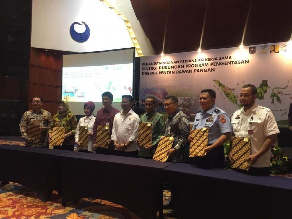 6 Kementerian Keroyokan Entaskan Daerah Kesulitan Pangan