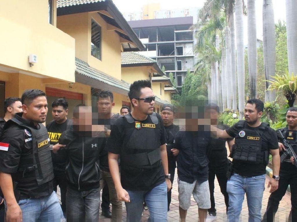 Polisi Tangkap 4 Pengedar Sabu di Kampung Ambon Jakbar