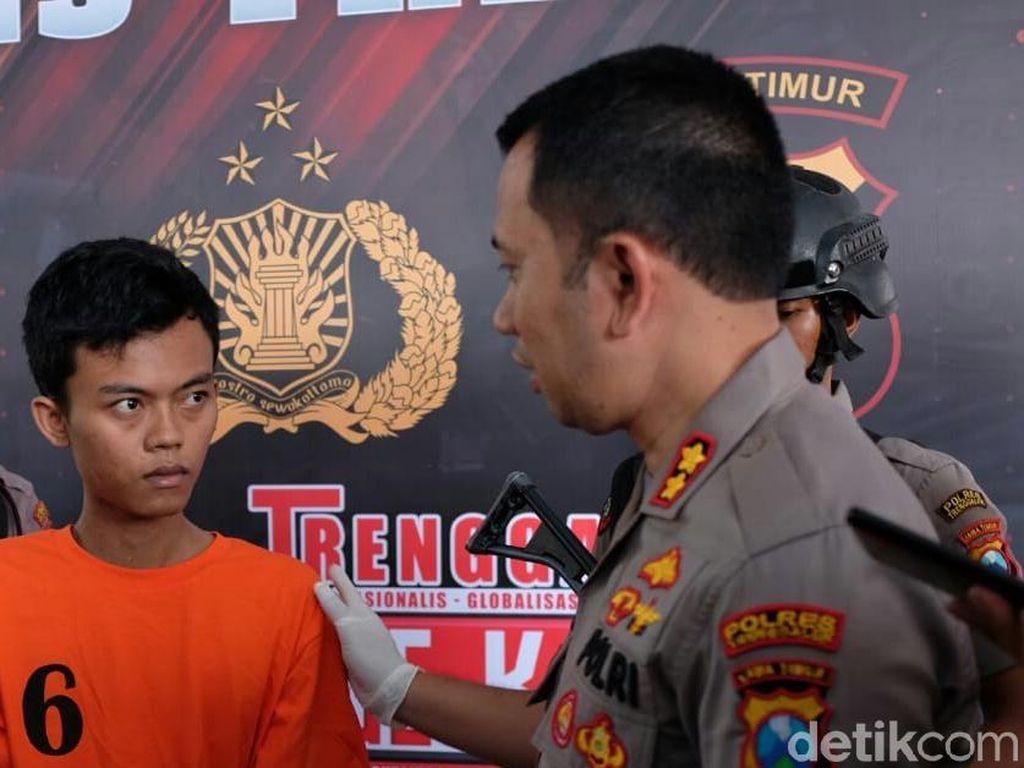 Paksa Cewek Kirim Foto dan Video Bugil, Pria di Trenggalek Ditangkap
