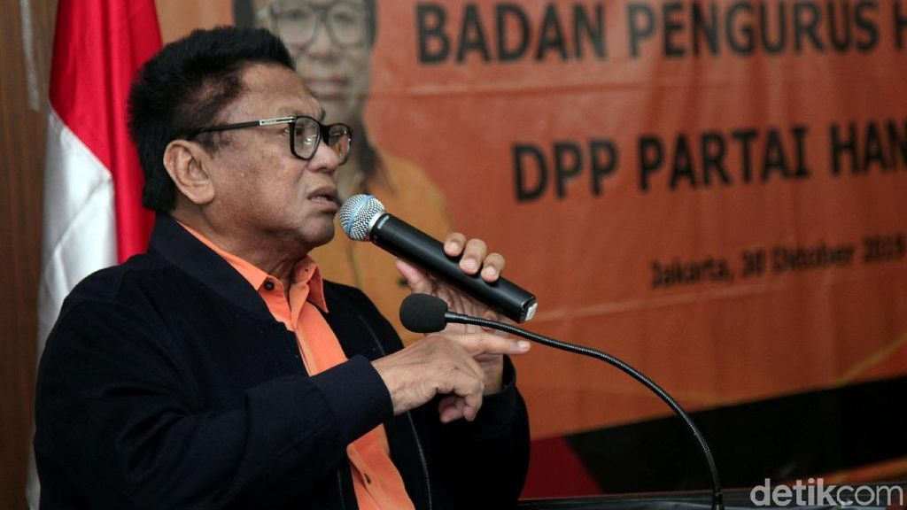 Hanura Dukung Jokowi-Maruf Secara Ideologis