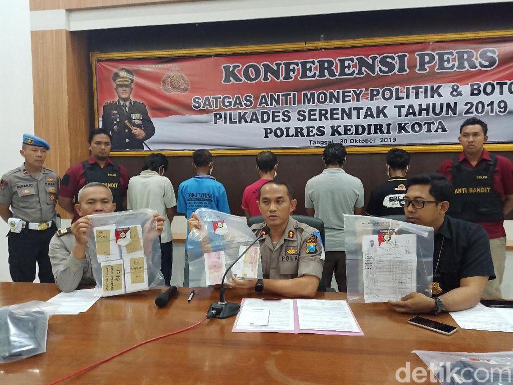 5 Warga Pelaku Suap Pilkades di Kota Kediri Diamankan