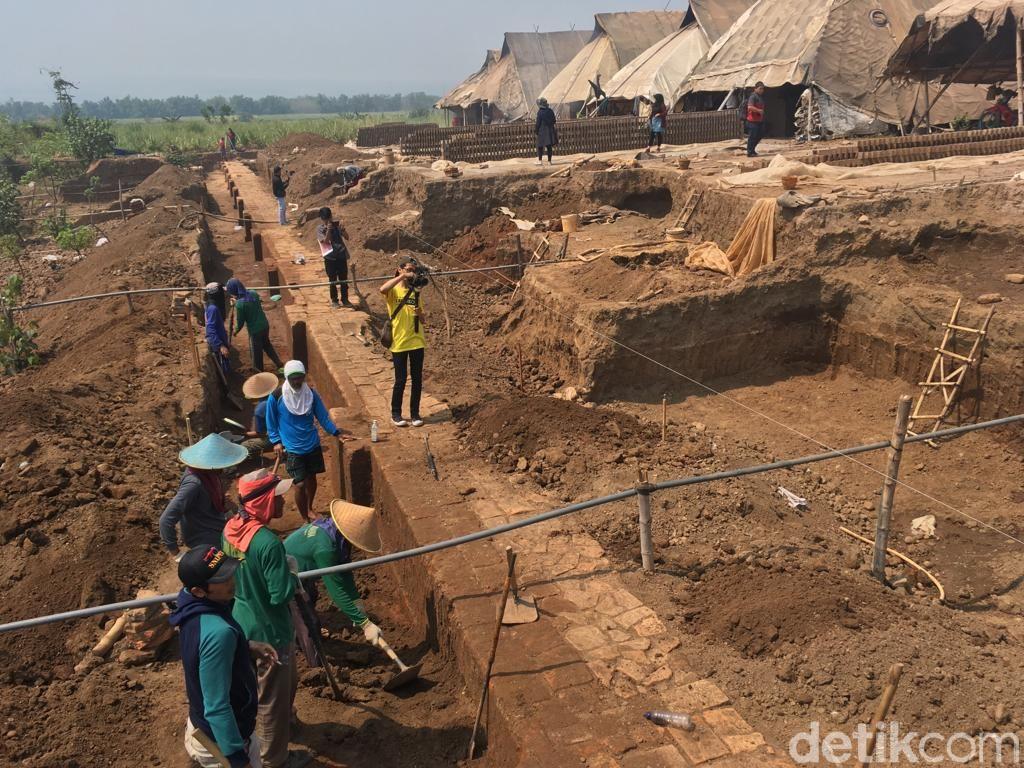 Ini Penampakan Situs Kumitir Setelah 10 Hari Diekskavasi Arkeolog