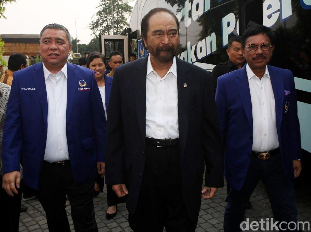 Kunjungi PKS, NasDem Dinilai Tak Happy dengan Kabinet Jokowi
