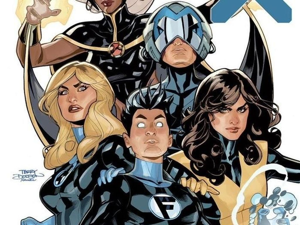 Marvel Umumkan Crossover X-Men dan Fantastic Four