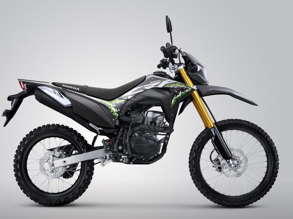 Motor Trail Honda Punya Baju Baru