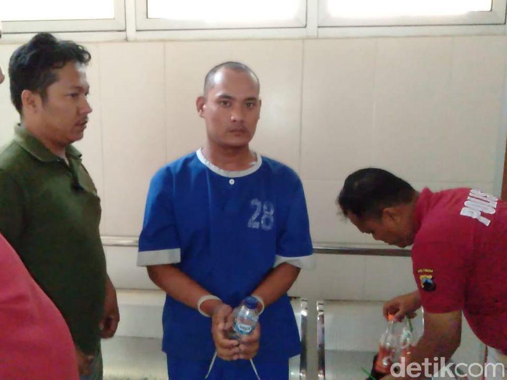 Wahudin yang Bunuh dan Cor Mayat Ayah Kandung Diperiksa Kejiwaannya