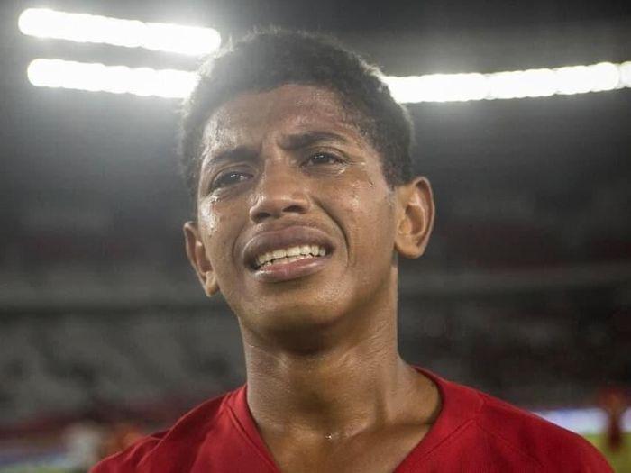 Bek Timnas U-16, Alfin Lestaluhu, meninggal dunia. (Foto: Instagram @bimasakti230176)