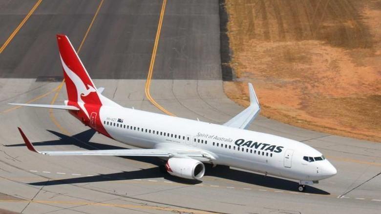 Temukan Retakan Qantas Periksa Seluruh Unit Boeing 737