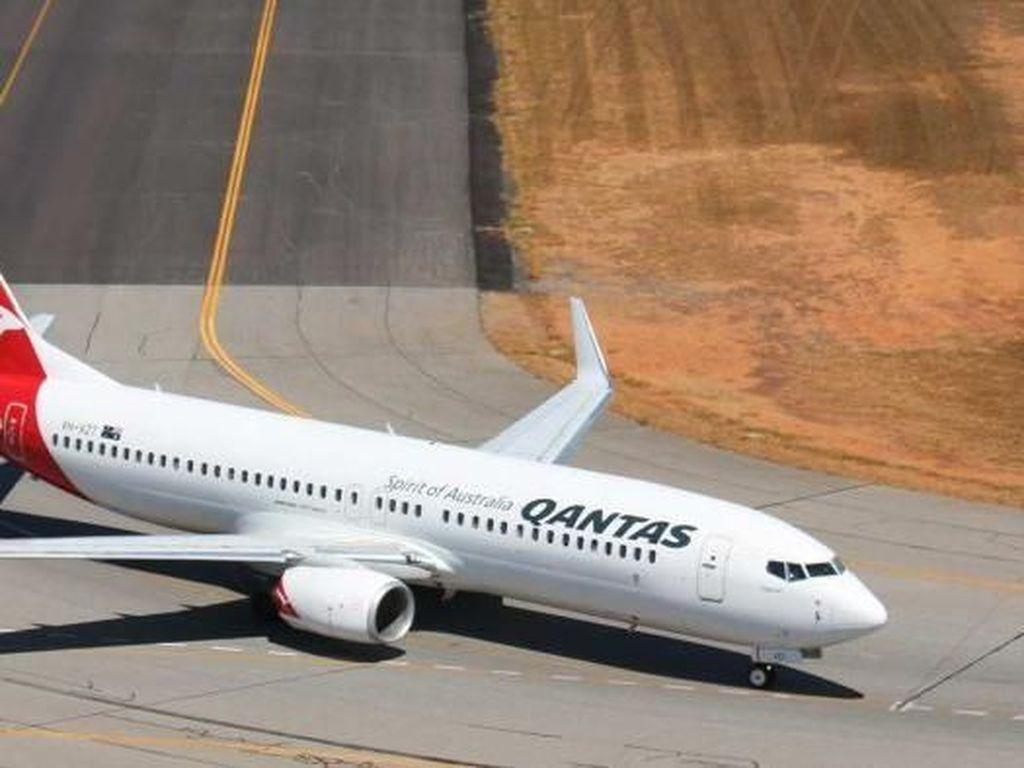 Qantas Setop Pengiriman Pesawat dari Boeing dan Airbus