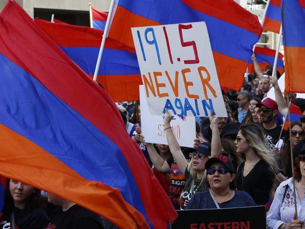 Parlemen AS Akui Pembantaian di Armenia Pada PD I Sebagai Genosida
